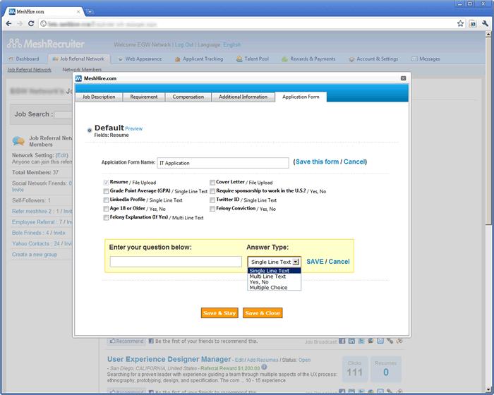 social recruiting software  u0026 referral recruiting software